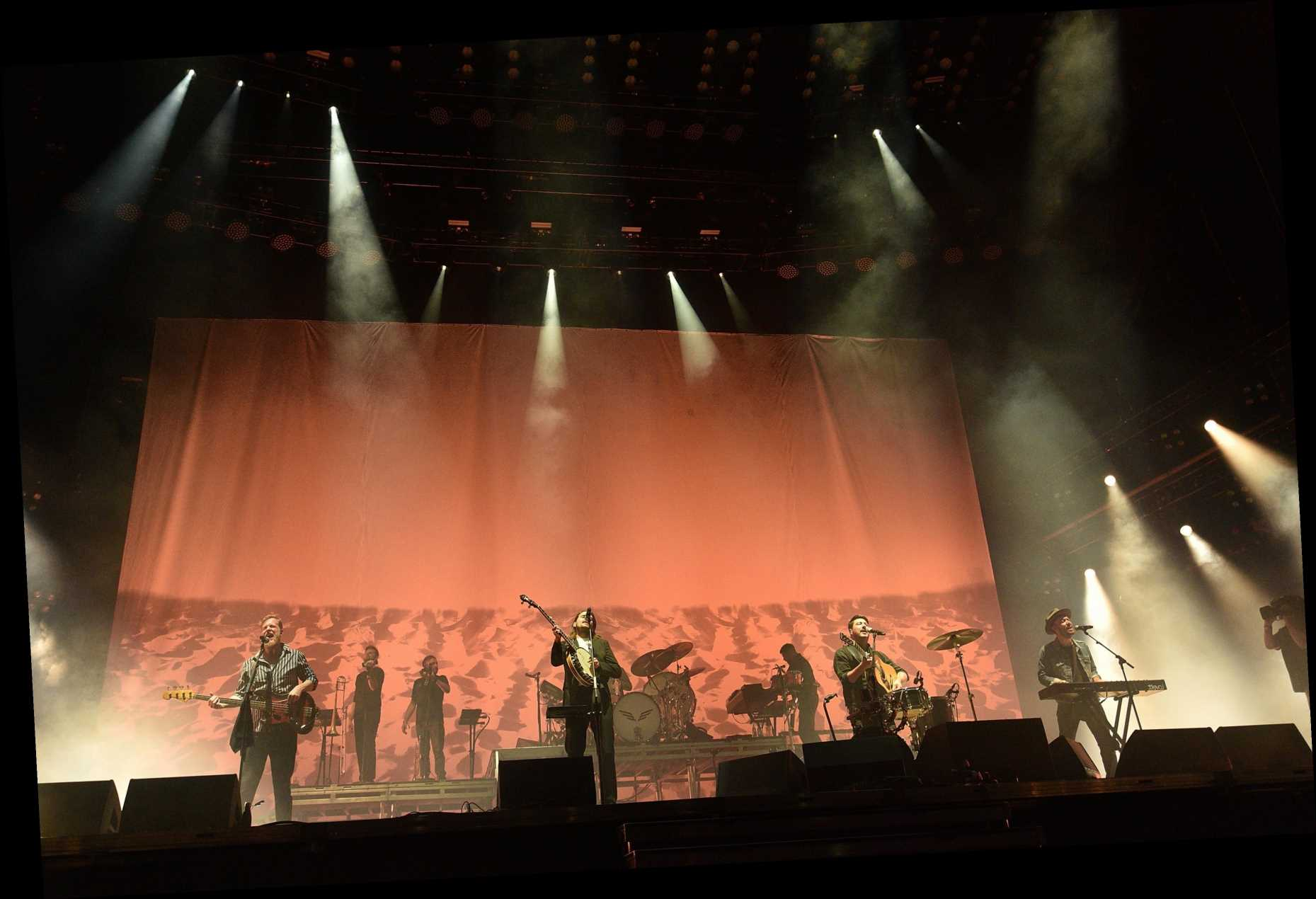 Lars Ulrich Joined Mumford & Sons for Resounding Rendition of 'The Wolf'