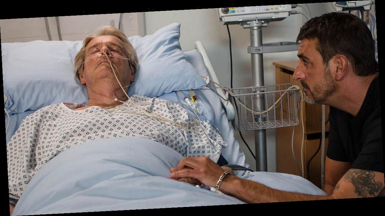 Corrie legend Ken Barlow rushed to hospital with pneumonia amid confusion