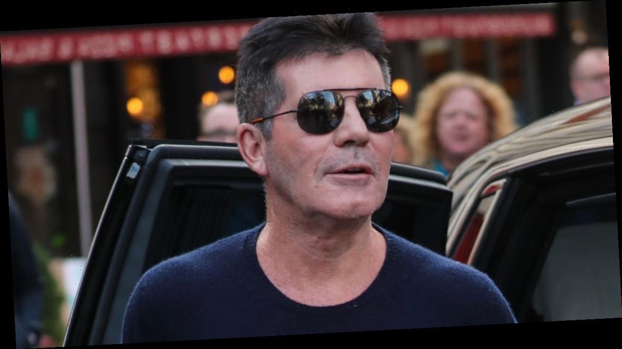 X Factor's Simon Cowell shows off incredible weight loss as he poses with fans