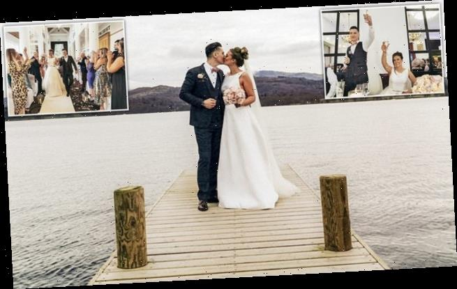 Couple chose to have their wedding photos snapped on a SMART PHONE