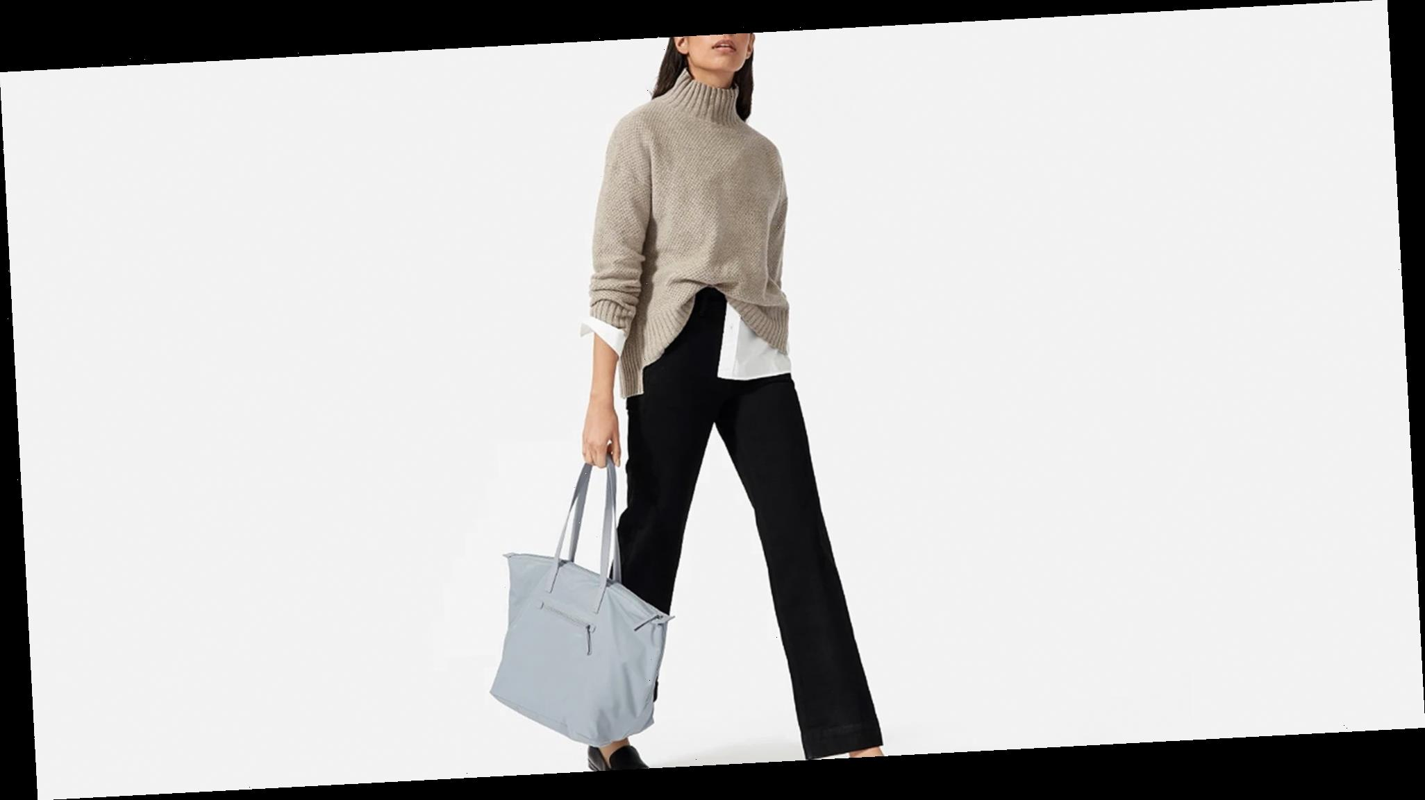 Everlane's New Sustainable Tote Can Be Rolled Down to the Size of a Clutch