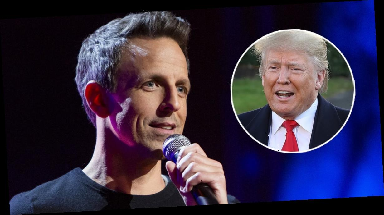 Now You Can Skip Trump Jokes on Netflix, Thanks to Seth Meyers