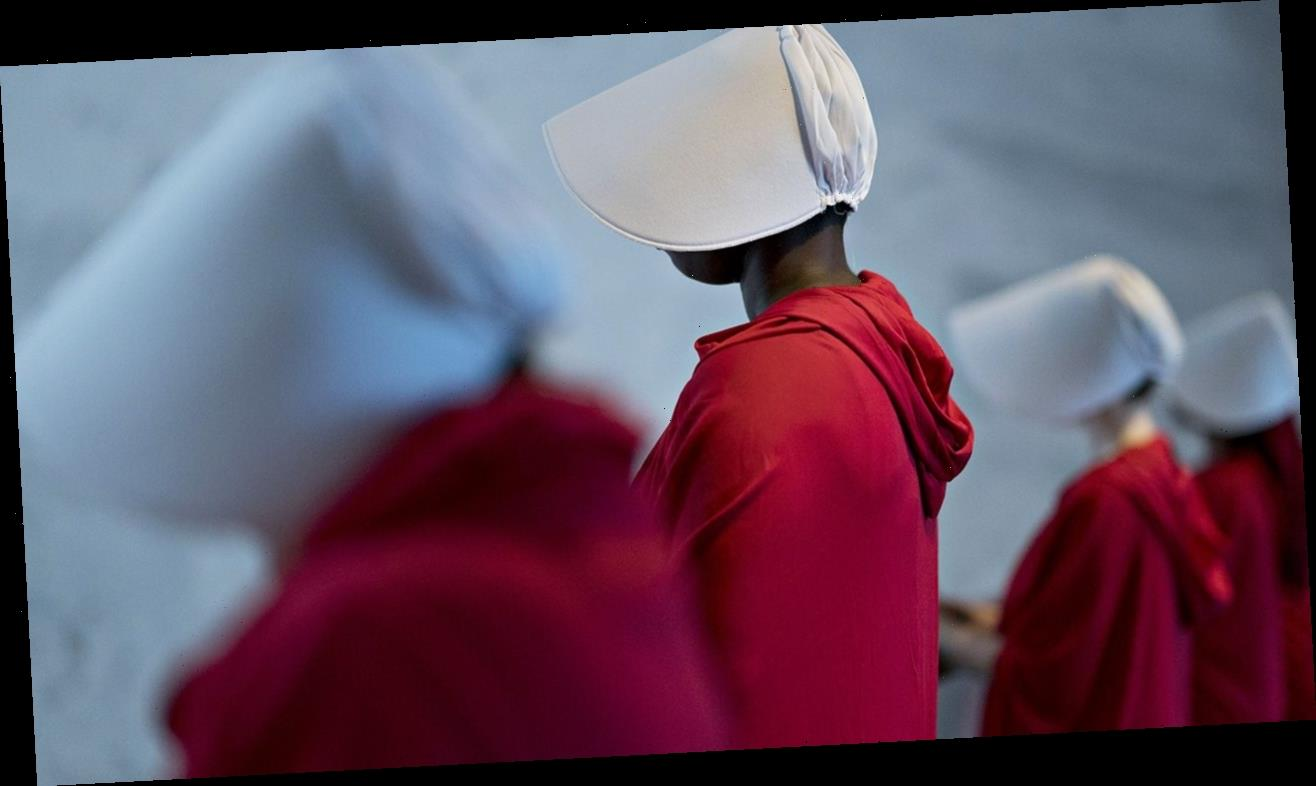 Couple's 'Handmaid's Tale'-inspired pregnancy announcement accused of promoting rape