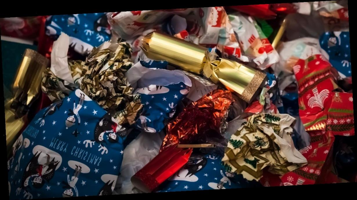 Simple scrunch test will show whether your wrapping paper is recyclable