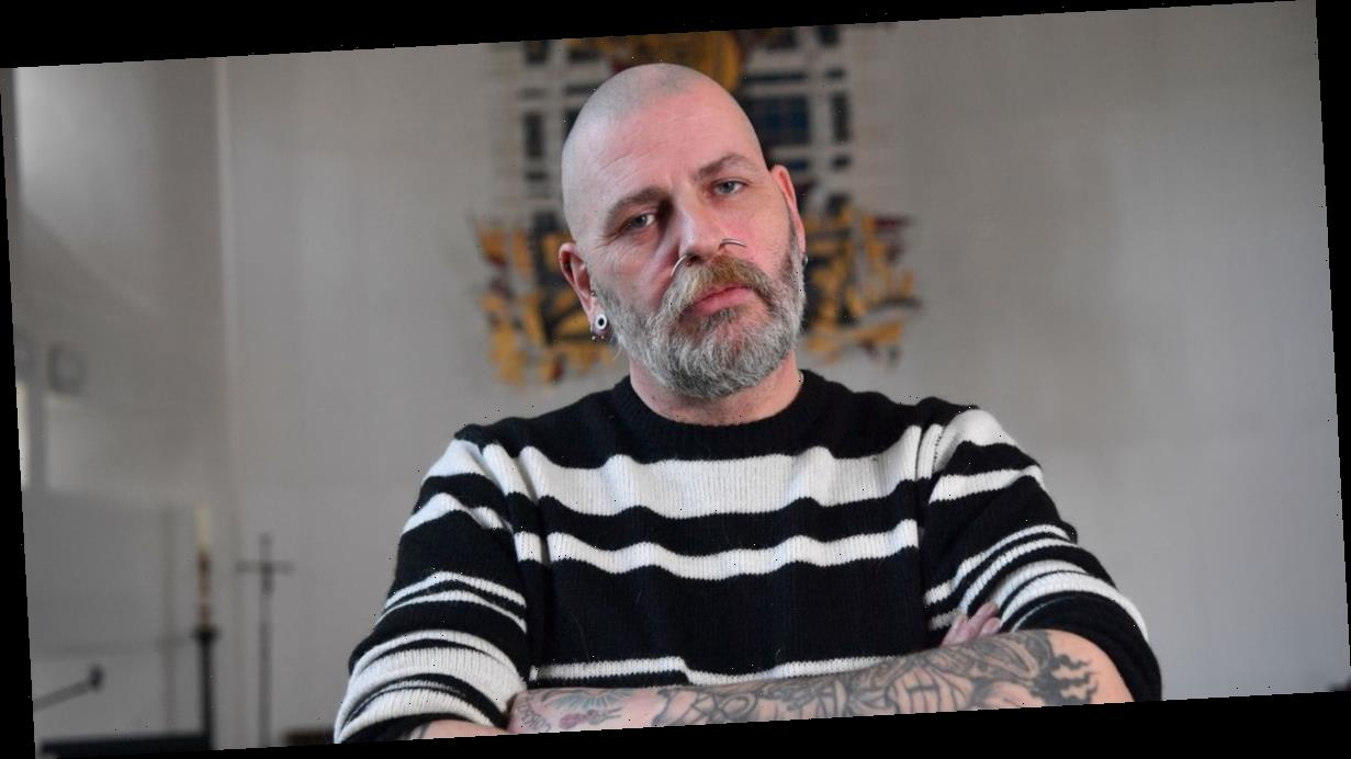 Tattooed ex-drug addict ditches Satan in favour of becoming a skinhead vicar