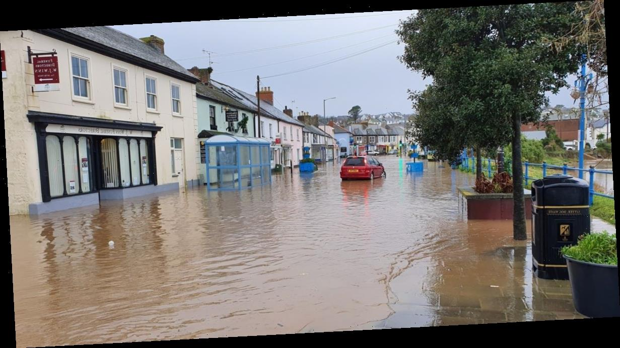 Washout weekend as over 200 flood warnings and alerts issued across England