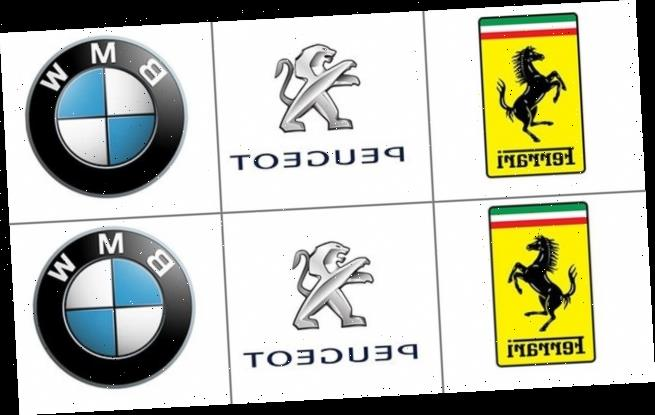 Tricky pictures challenge you to spot the real logo from the the fake