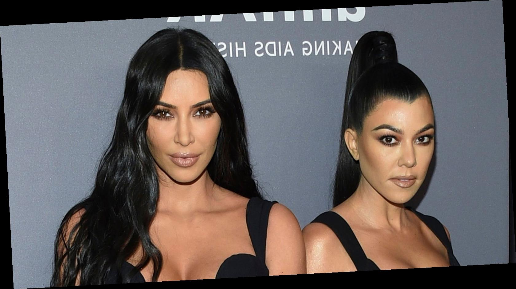Kim Admits She's 'So Mean' to Kourtney During 'KUWTK' Finale