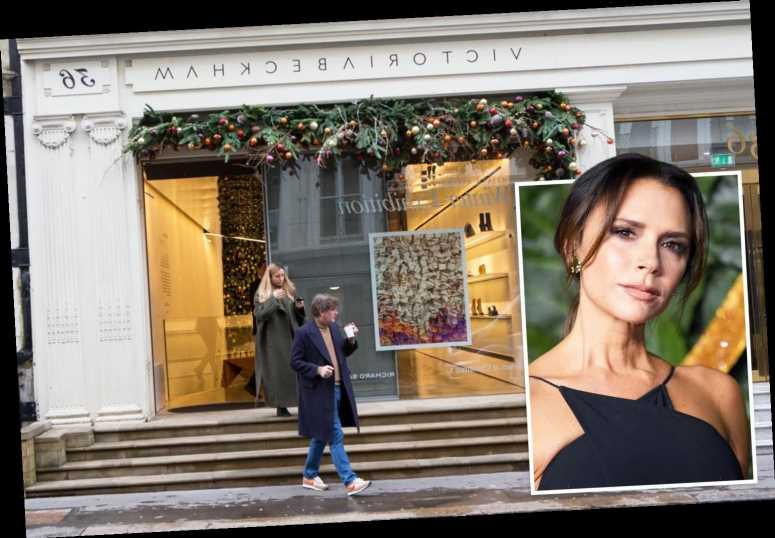 Victoria Beckham forced to ditch chauffeur and potted plants after her fashion line loses £12million – The Sun