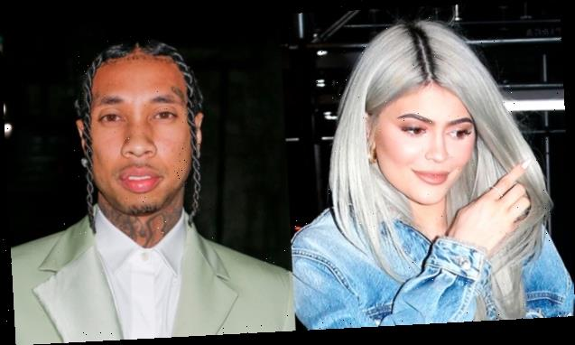 Kylie Jenner Squirms When Hearing Ex Tyga's Song At Diddy's Twin Daughters' Birthday Party