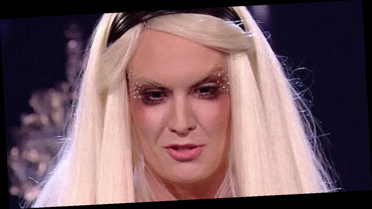 X Factor's Kitty Brucknell stuns with pink-haired bikini babe transformation