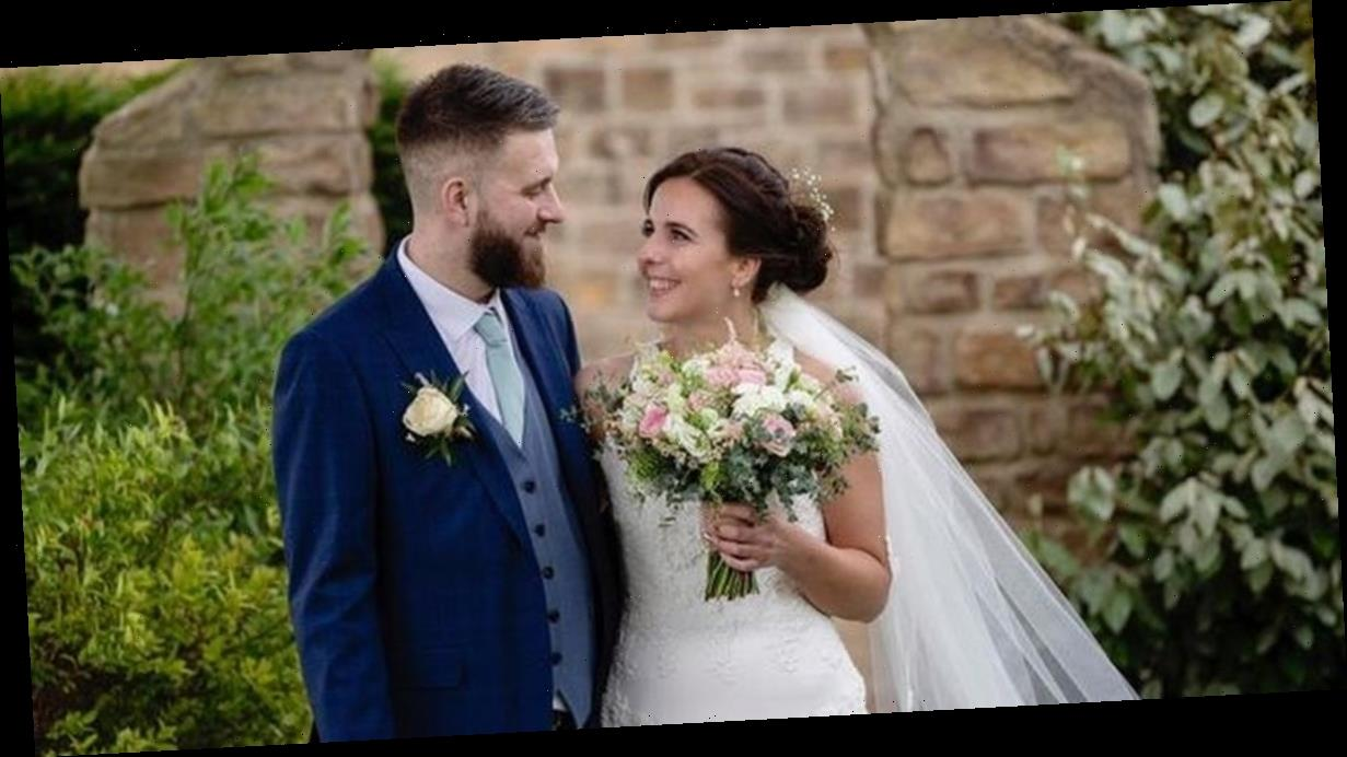 Bride, 30, shares agonising, moving last days with groom who couldn't be saved