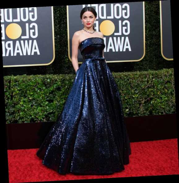 Ana de Armas in Ralph and Russo: one of the best looks of the Golden Globes?