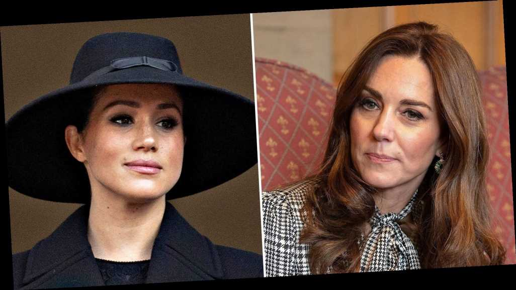 Duchess Kate and Meghan Markle 'Have Not Spoken' Since Royal Exit