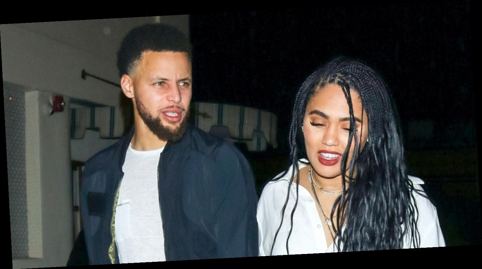 Stephen Curry & Wife Ayesha Hold Hands on Date Night in WeHo