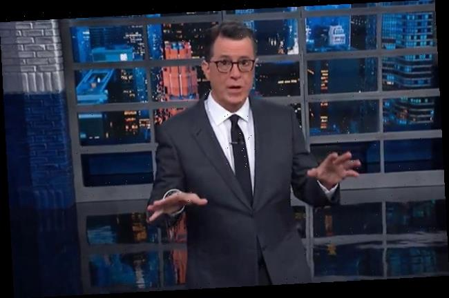 'The Late Show With Stephen Colbert' Offers A Valentine To Adam Schiff