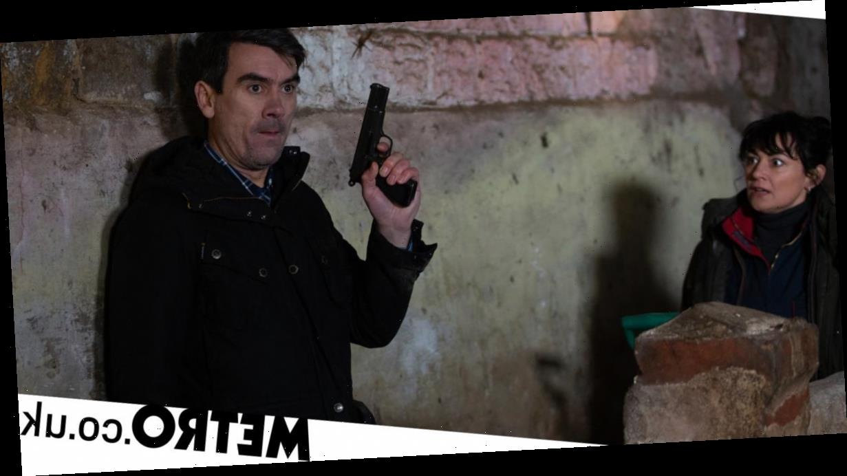 Spoilers: Cain and Moira arrested over shooting in Emmerdale?