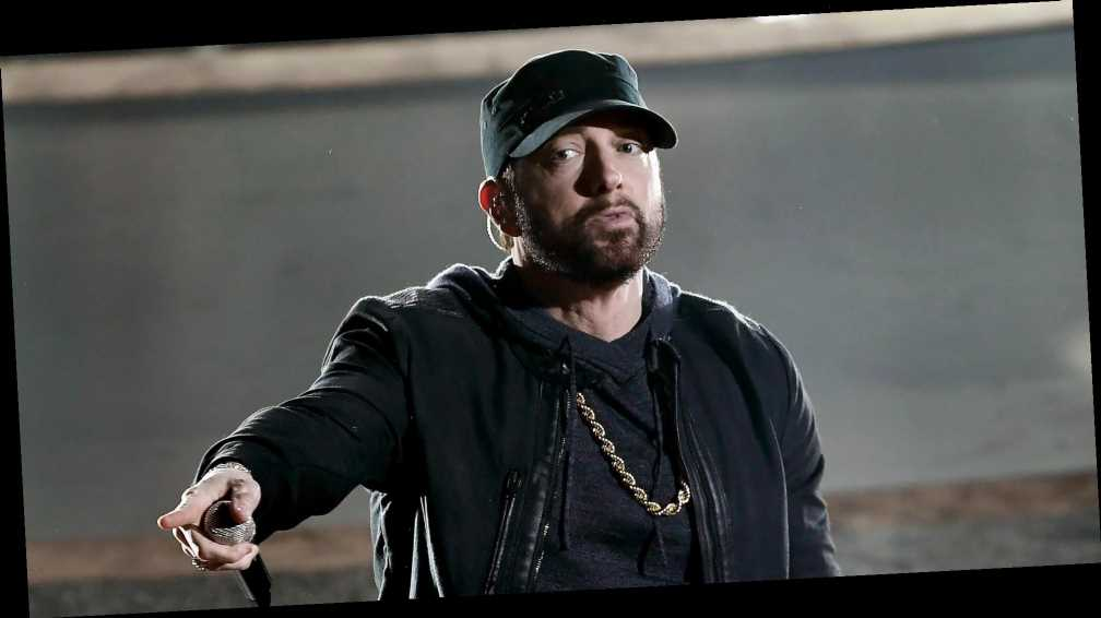 Eminem Gives Surprise Performance — and the Audience Isn't Sure How to React