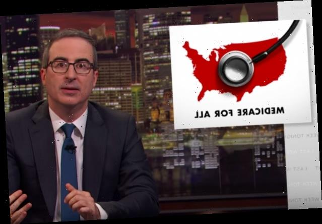 John Oliver Shoots His Shot on Medicare for All (Video)