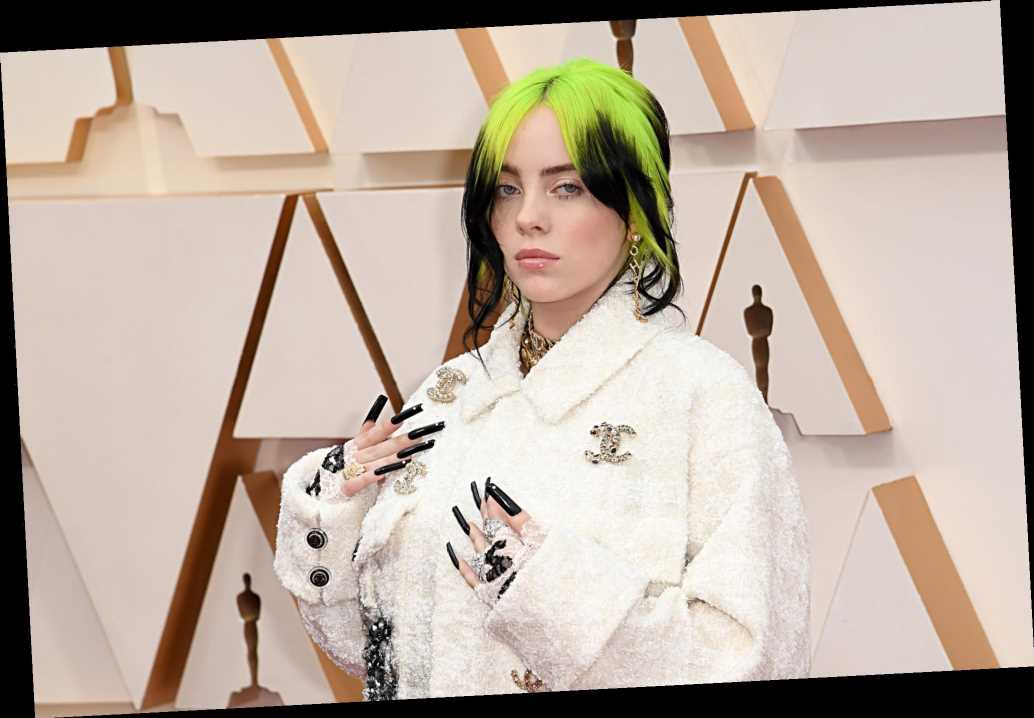Billie Eilish hits Oscars 2020 red carpet in white Chanel pantsuit