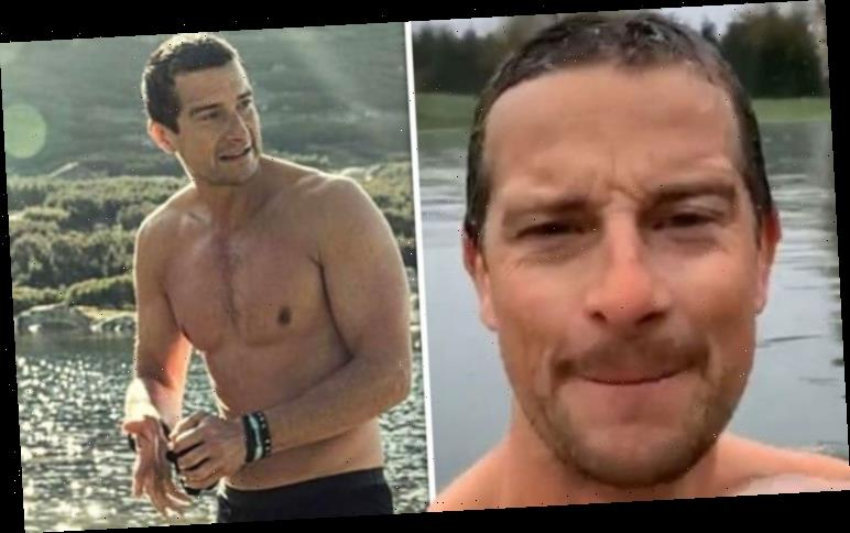 Bear Grylls leaves fans stunned after he accidentally flashes manhood in naked video