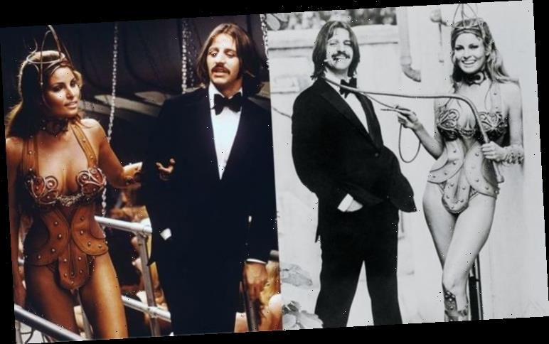 Raquel Welch sizzles in sexy film pics with The Beatles' Ringo Starr – see photos HERE