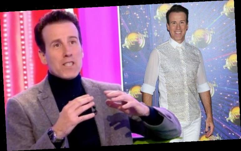 Strictly's Anton Du Beke admits he's 'looking forward' to self-isolation amid COVID-19