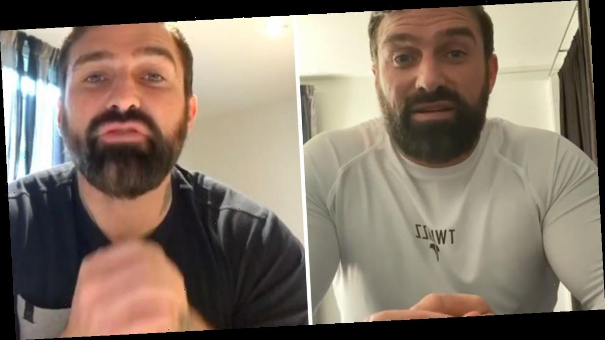Ant Middleton urges fans to self-isolate after being slammed for saying coronavirus 'won't affect him' because he's 'too strong'
