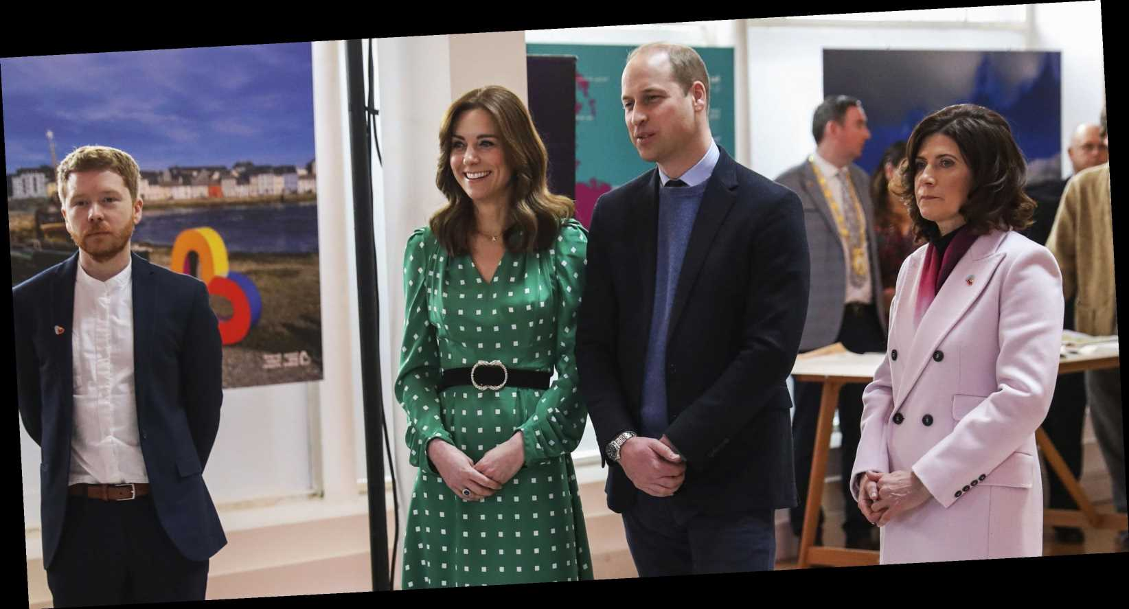 Kate Middleton Continues Her Green Style Streak with a Polka Dot Dress