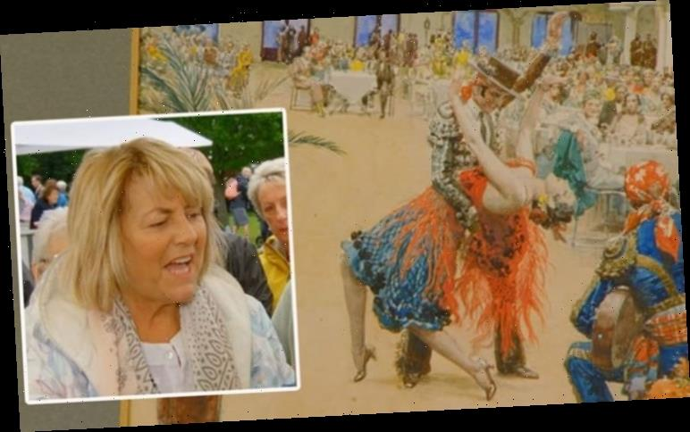 Antiques Roadshow guest lost for words after astounding valuation of Blackpool paintings