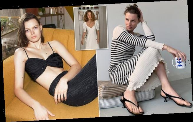 Zara models shoot the new campaign inside their own homes