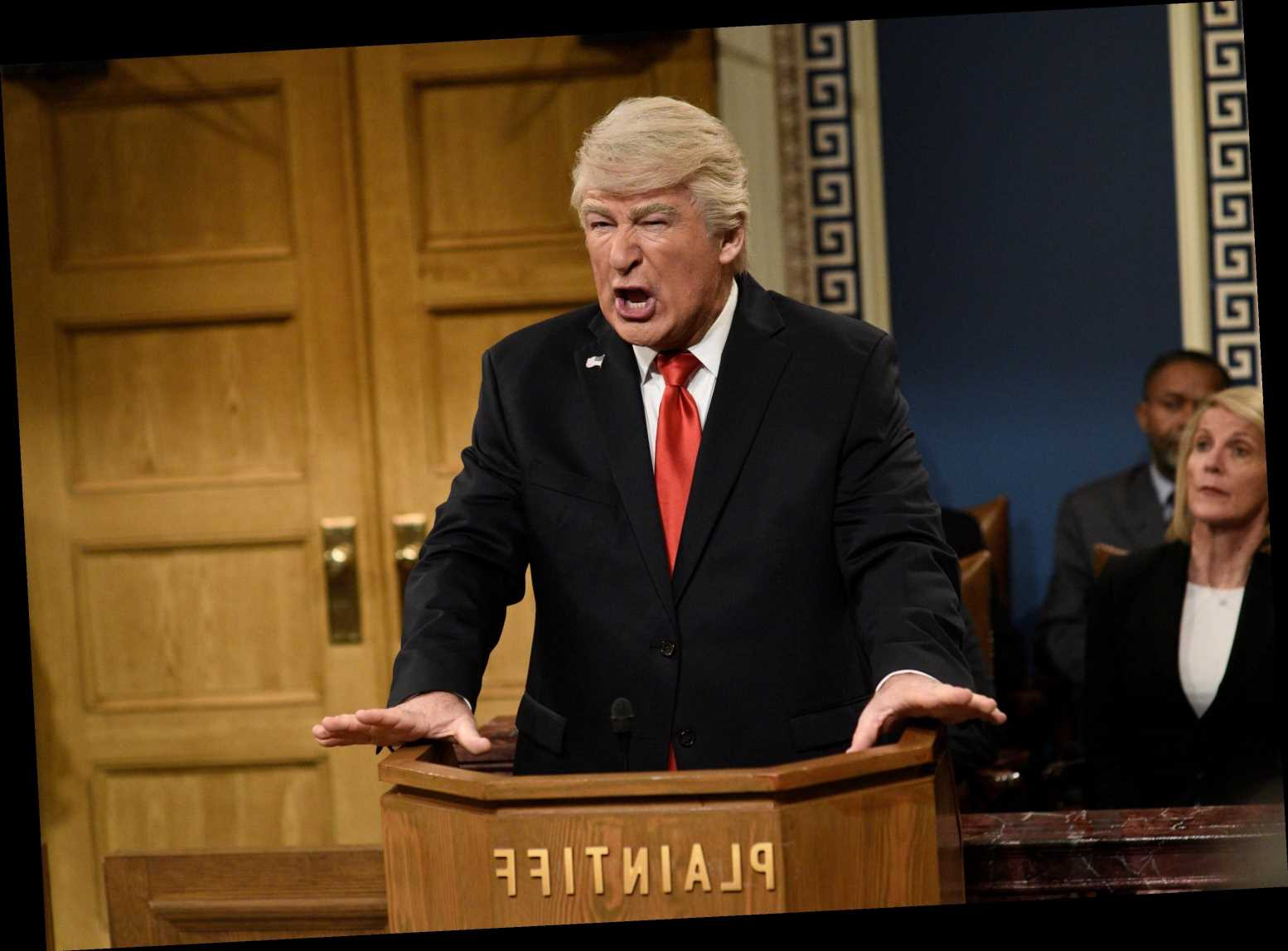 Alec Baldwin Gives His Trump Impression An Injection Of Lysol
