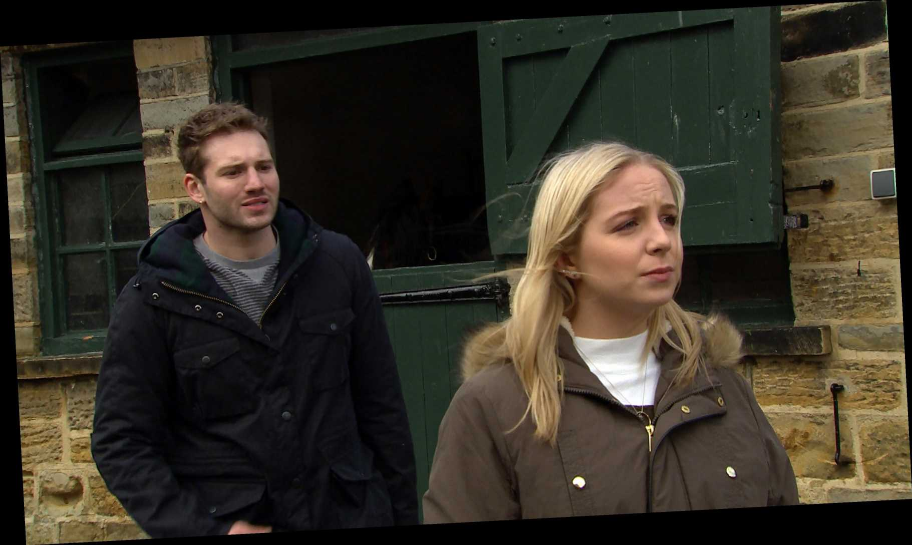 10 Emmerdale spoilers next week- Billy is set up by Malone and Jamie persuades Paddy to fire Belle