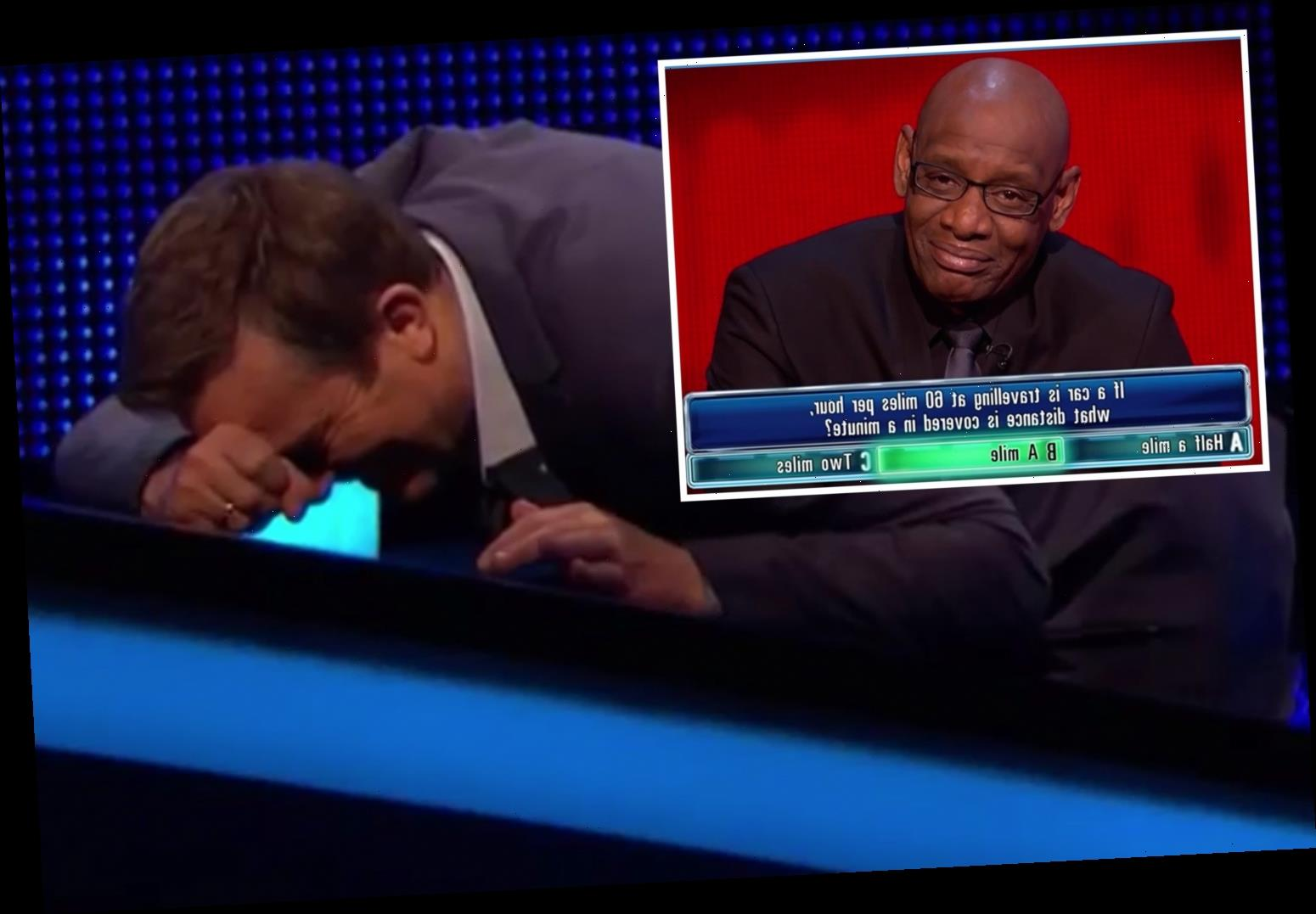 The Chase's Dark Destroyer stuns Bradley Walsh when he gets math question 'for a 4 year old' wrong – The Sun