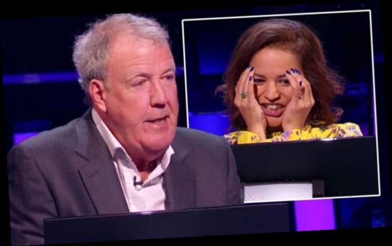Jeremy Clarkson scolds WWTBAM contestant after major answer blunder 'You knew nothing!'