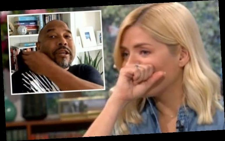 Holly Willoughby horrified as John Barnes shows gruesome injury live on air 'Oh my gosh!'
