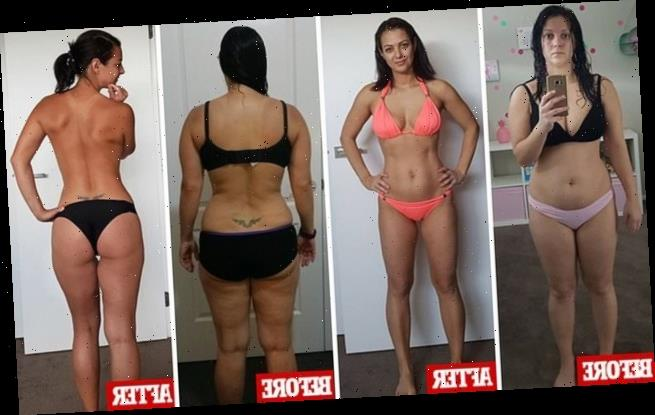Mum-of-two shed fat from her body and toned up in MONTHS