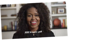 """Michelle Obama Uplifts Graduating Students in MTV Prom-athon Speech: """"Love You All"""""""