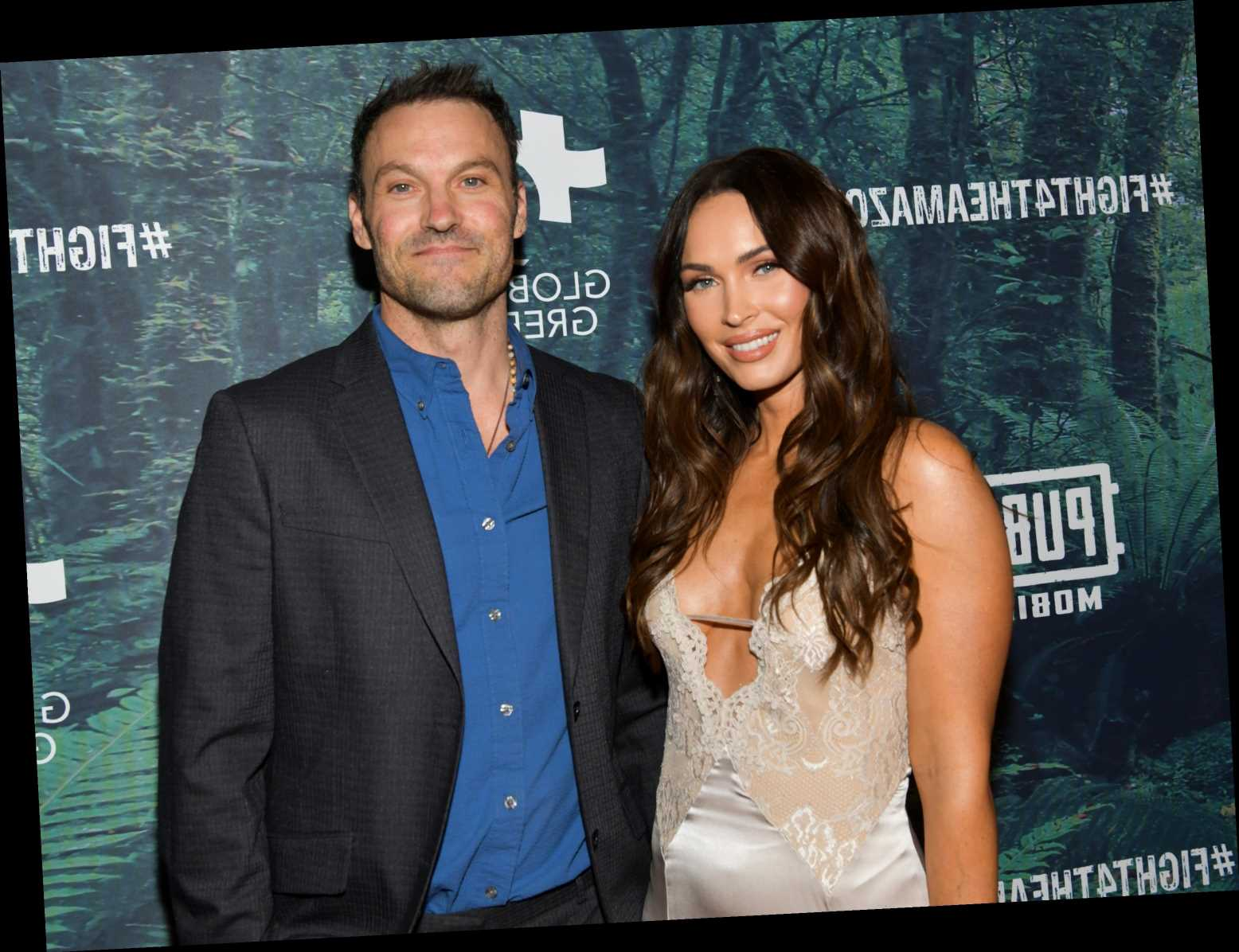 Brian Austin Green confirms split from Megan Fox as he says break from 'best friend' left him with a 'pit in my stomach' – The Sun