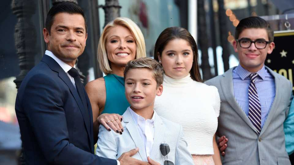 Kelly Ripa's Son Michael Is Morphing Into His Dad