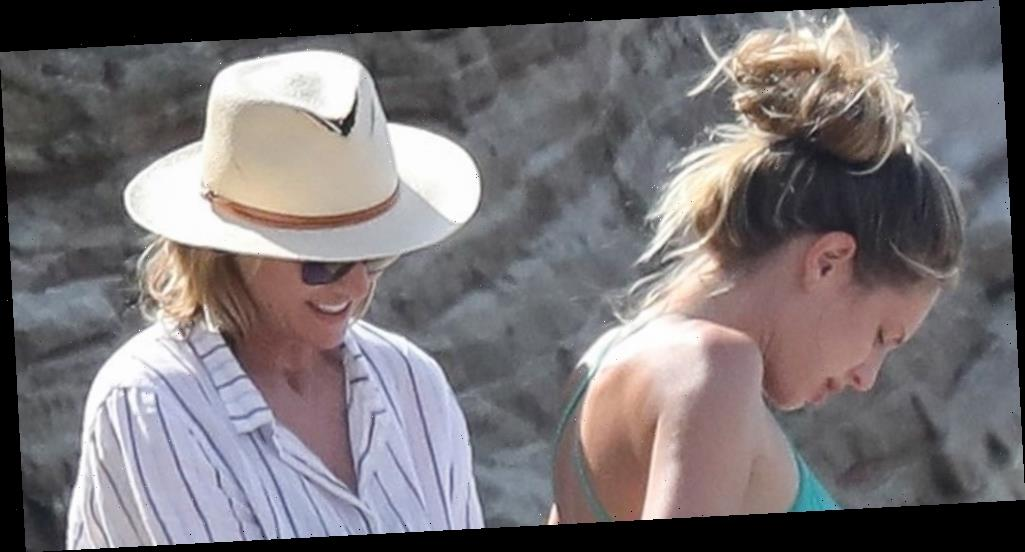 Robin Wright Helps Daughter Dylan Penn Into Wetsuit During Beach Day in LA