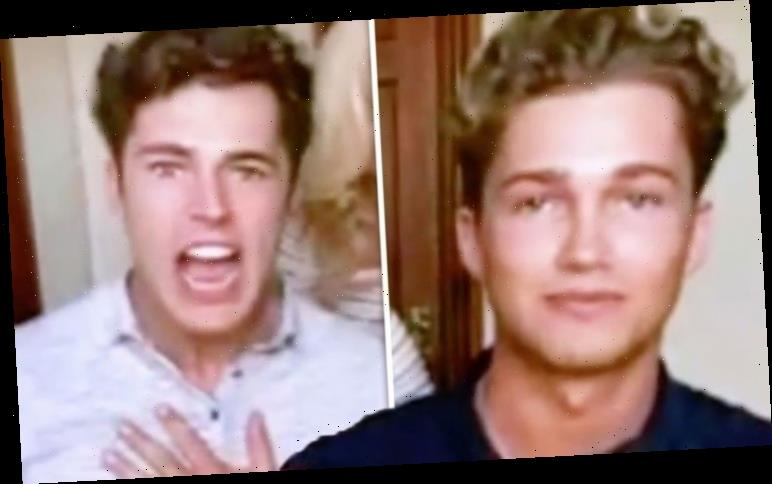 AJ Pritchard: Strictly star gets into heated exchange with brother Curtis Pritchard on air