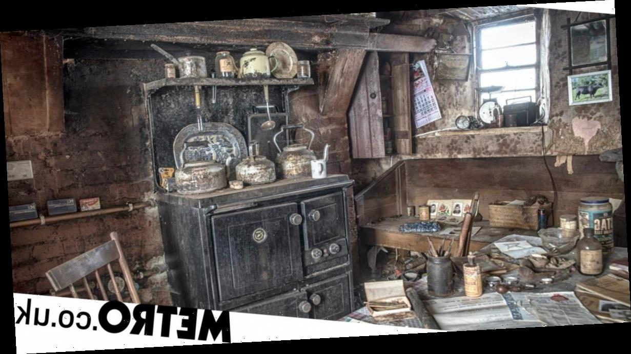 Inside an abandoned decaying farmhouse with relics from as early as 1811