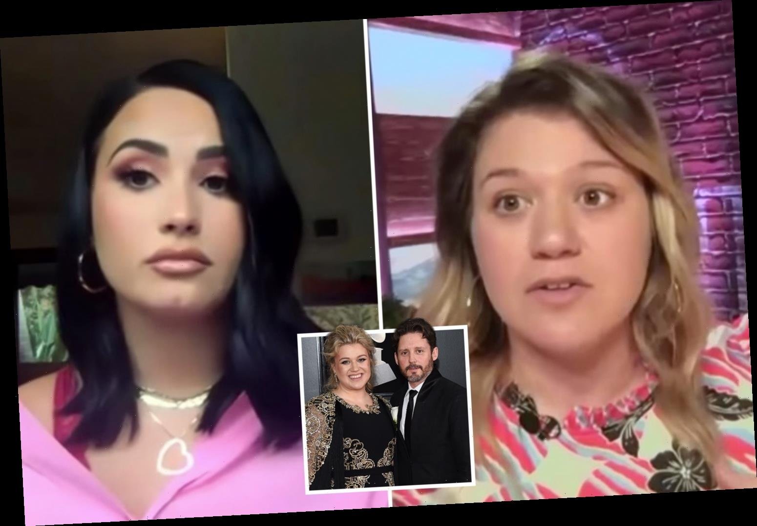Kelly Clarkson confesses she 'suffers from depression' in candid talk with Demi Lovato as she copes with divorce – The Sun
