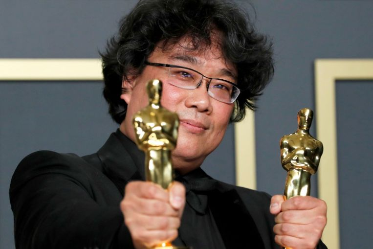 Oscars organisers say academy exceeds diversity goal as Parasite cast, others join