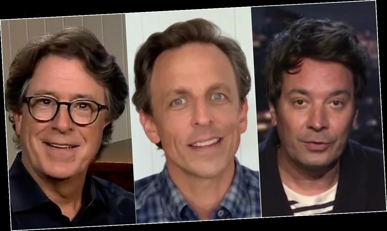 Late-Night Hosts Unleash On Trump's 5-Word Boast About Being 'Cognitively There'