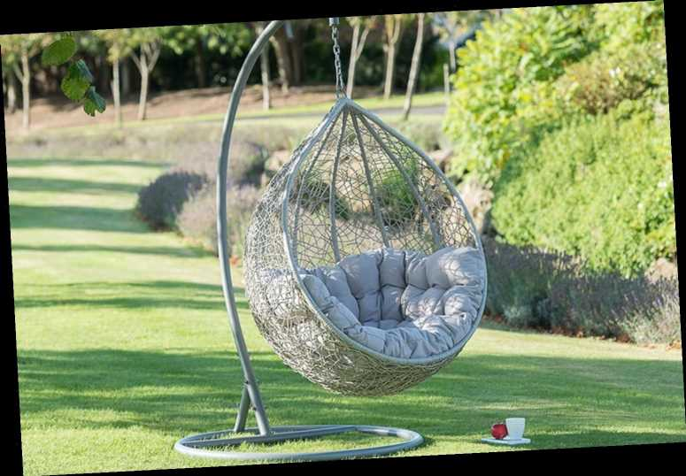 B&M's hanging egg chair is back on sale but stock is very limited