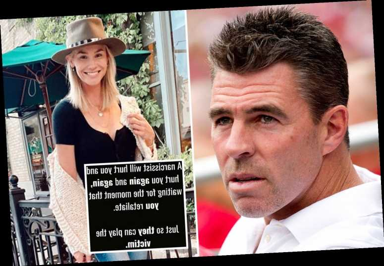 RHOC alum Meghan King's ex Jim Edmonds appears to call her a 'narcissist' after he slammed their 'loveless' marriage