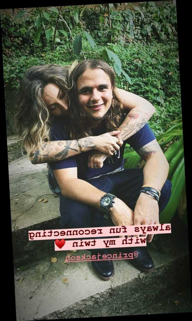 Paris Jackson Shares New Photo with Brother Prince Michael, Says It's 'Always Fun Reconnecting'
