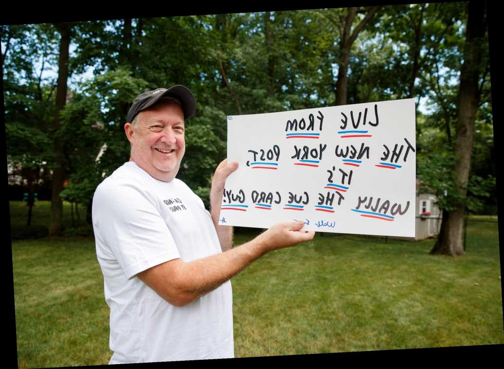 'SNL's infamous 'cue card guy' Wally Feresten launches side hustle